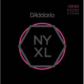 D´addario NYXL0980 cuerdas para guitarra eléctrica